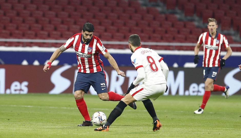 Temporada 20/21 | Atleti - Sevilla | Luis Súarez