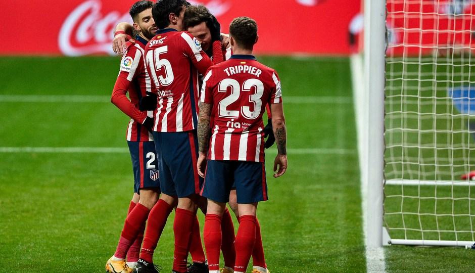 Temporada 20/21 | Atleti - Sevilla | Celebración