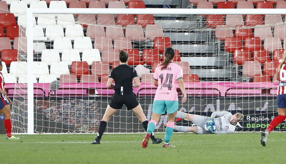 Temporada 20/21 | Supercopa | Atleti - Barcelona | Hedvig Lindahl
