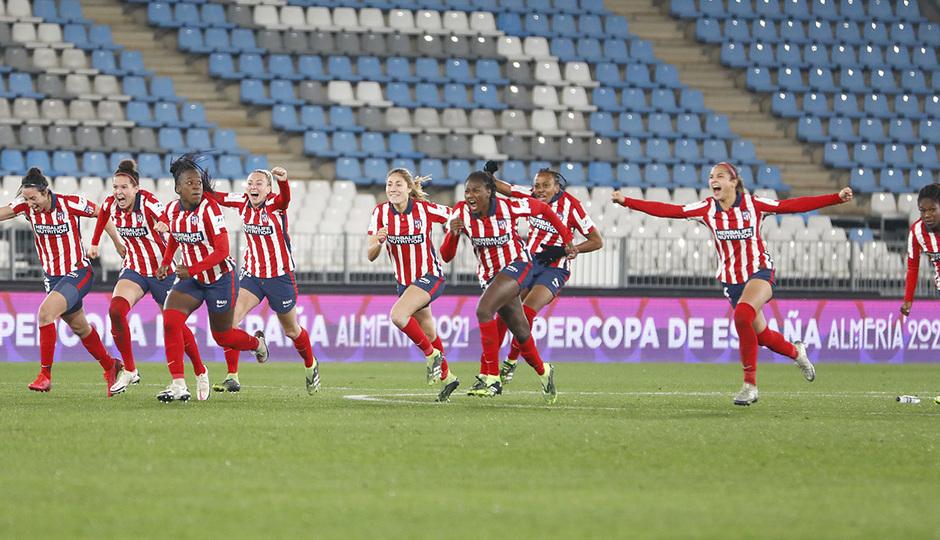 Temporada 20/21 | Supercopa | Atleti - Barcelona | equipo penaltis