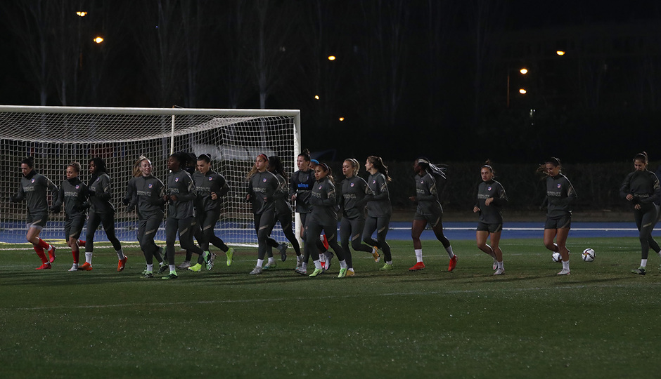 Temporada 20/21 | Entrenamiento previo final Supercopa | Grupo
