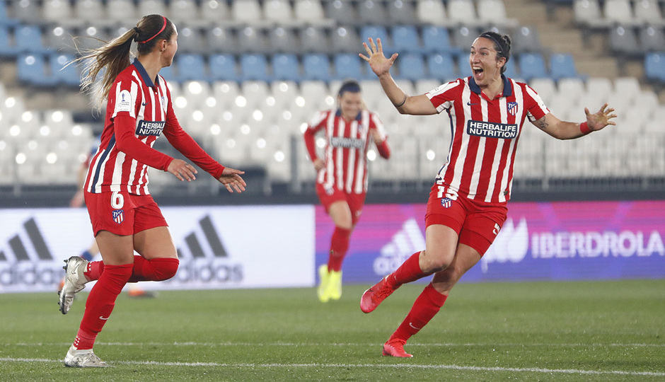 Temporada 20/21 | Final Supercopa de España | Levante-Atleti | Deyna y Meseguer
