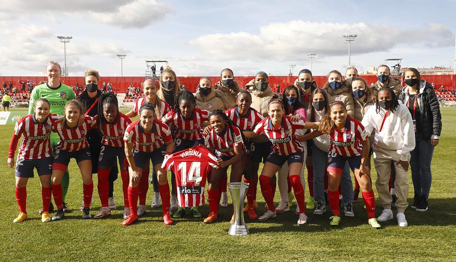 Temp 2020/21 | Atleti Femenino-Sevilla | Copa
