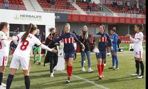 Temp 2020/21   Atleti Femenino-Sevilla   Pasillo