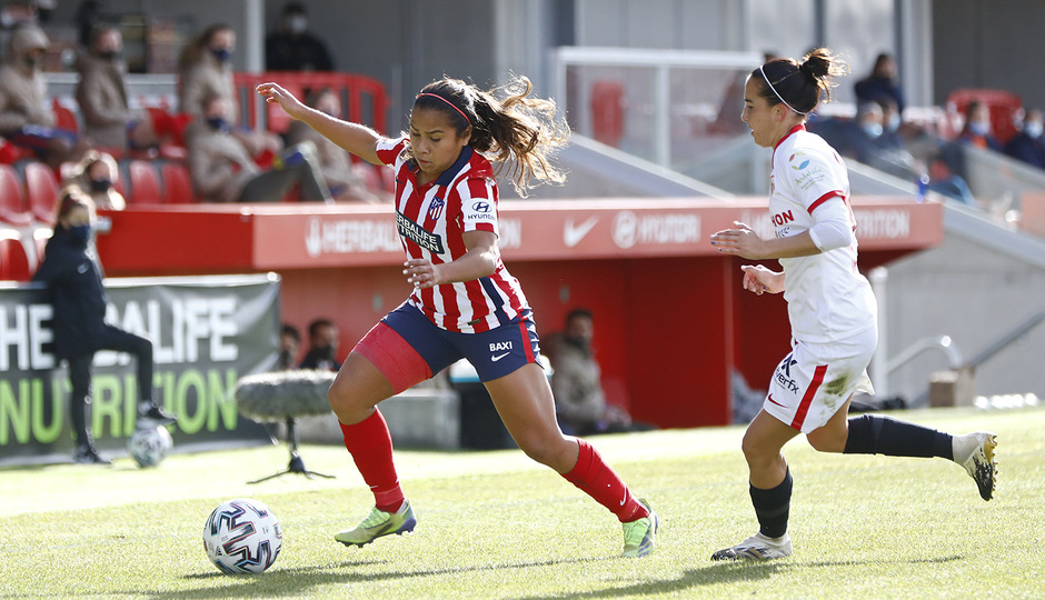 Temp 2020/21 | Atleti Femenino-Sevilla | Leicy