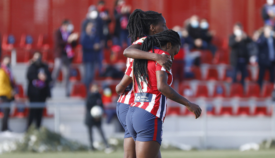 Temp 2020/21 | Atleti Femenino-Sevilla | Ludmila