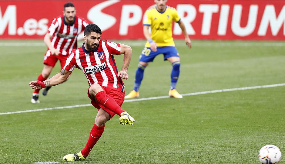 Temp. 20-21 | Cádiz - Atlético de Madrid | Suárez penalti