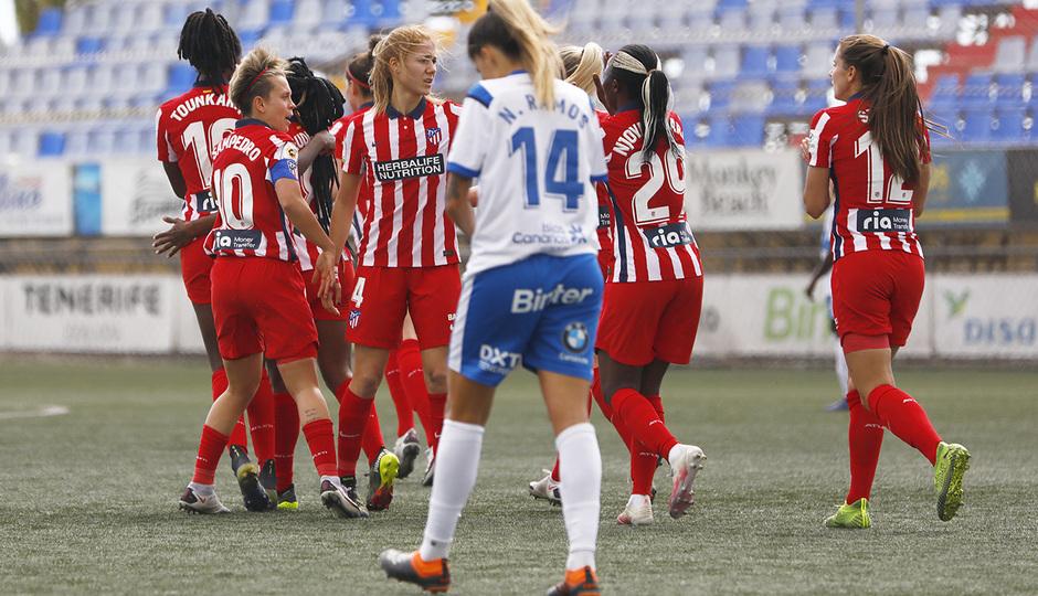 Temp. 20-21 | Granadilla-Atleti Femenino | Celebración