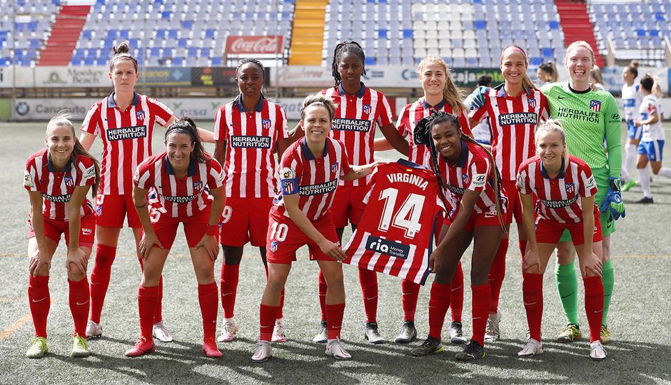 Temp. 20-21 | Granadilla-Atleti Femenino | Once