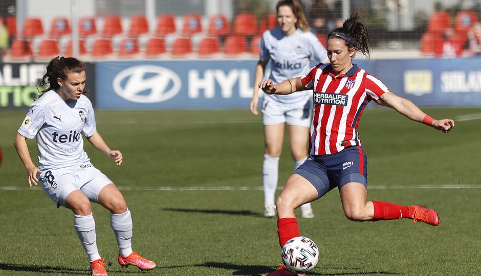 Temp. 20-21 | Atlético de Madrid Femenino - Valencia | Meseguer