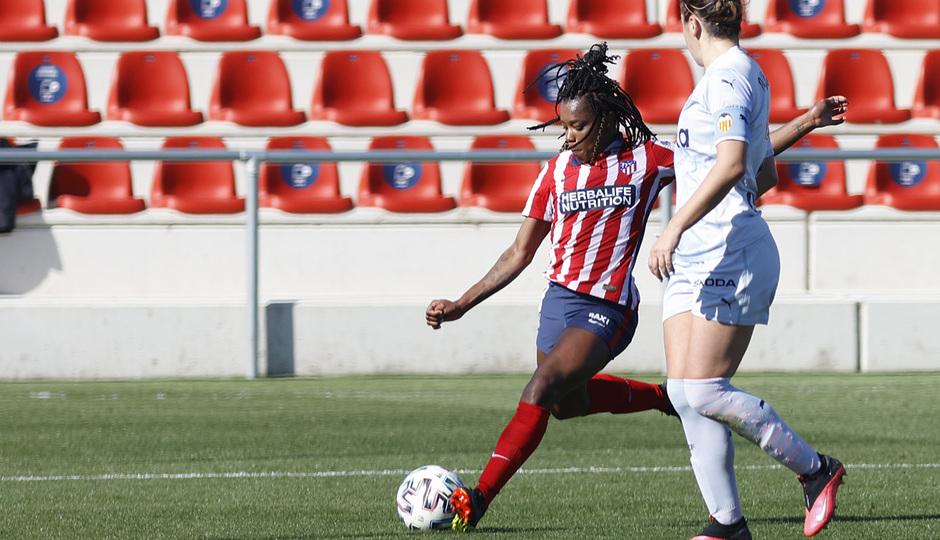 Temp. 20-21 | Atlético de Madrid Femenino - Valencia | Ludmila