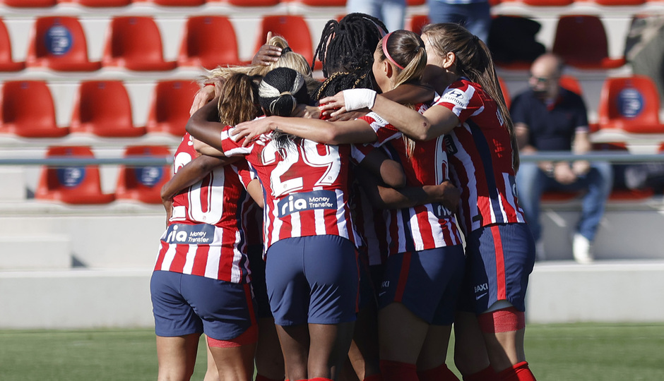 Temp. 20-21 | Atlético de Madrid Femenino - Valencia | Celebración Ludmila