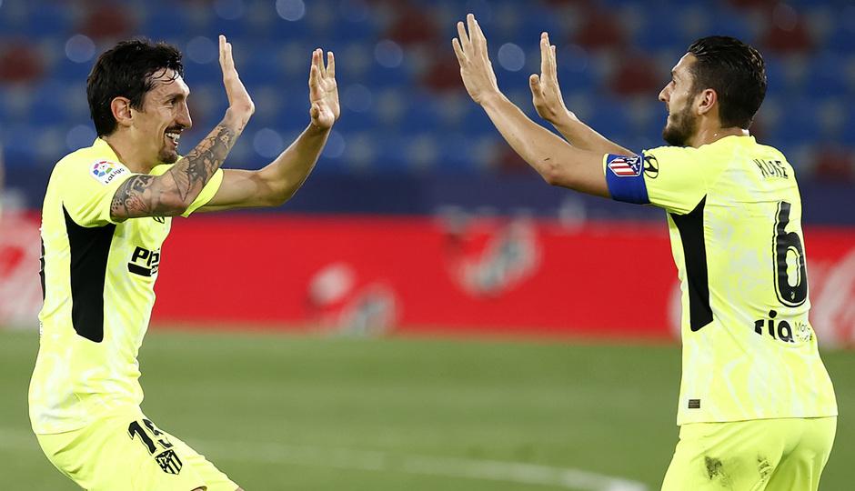 Temp. 20-21 | Levante - Atleti | Savic y Koke