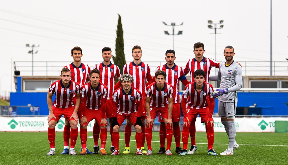 Temp. 20-21 | Getafe B - Atlético de Madrid B | Once