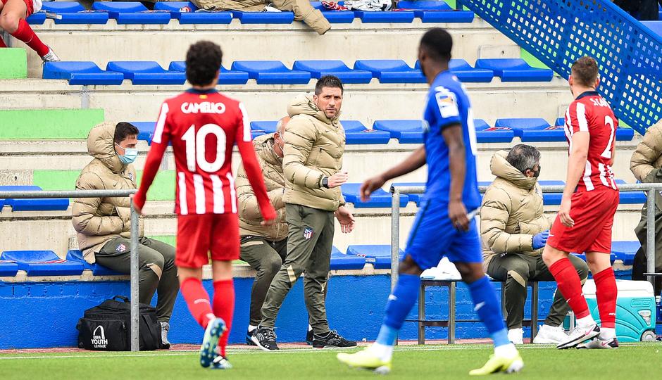 Temp. 20-21 | Getafe B - Atlético de Madrid B | Nacho Fernández