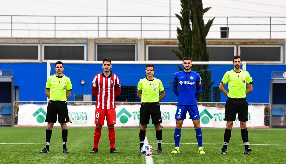 Temp. 20-21 | Getafe B - Atlético de Madrid B | Capitanes