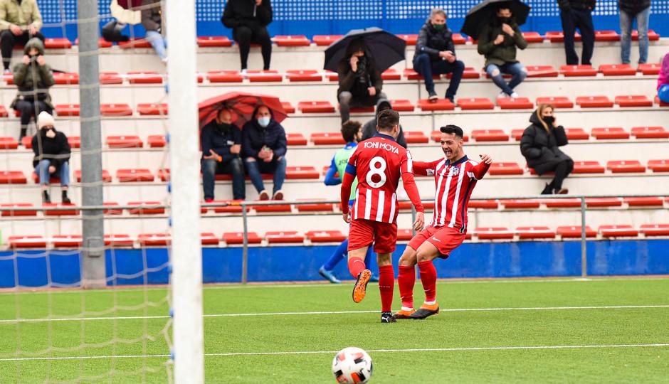 Temp. 20-21 | Getafe B - Atlético de Madrid B | Toni Moya