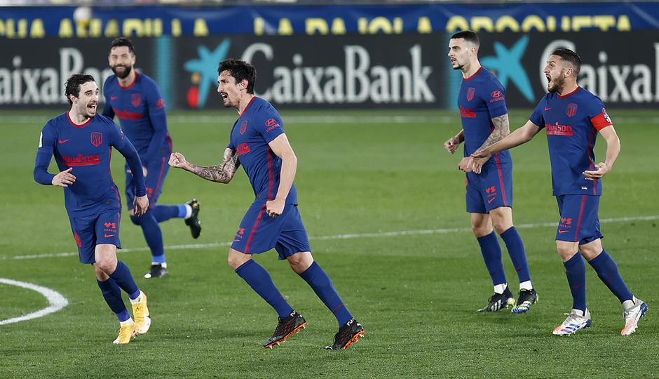 Temp. 20-21 | Villarreal - Atleti | Celebración