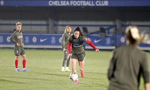 Temp. 20-21 | UWCL | Entrenamiento Chelsea-Atleti Femenino | Meseguer
