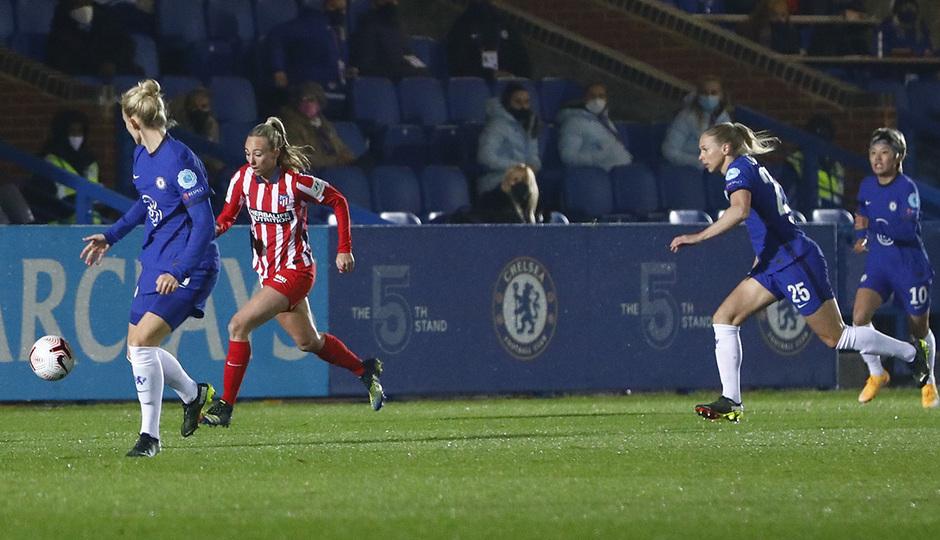 Temp. 20-21   UWCL   Chelsea-Atleti Femenino   Toni Duggan