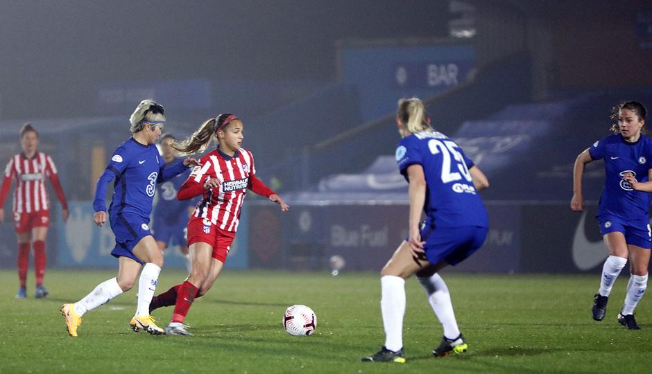 Temp. 20-21   UWCL   Chelsea-Atleti Femenino   Deyna