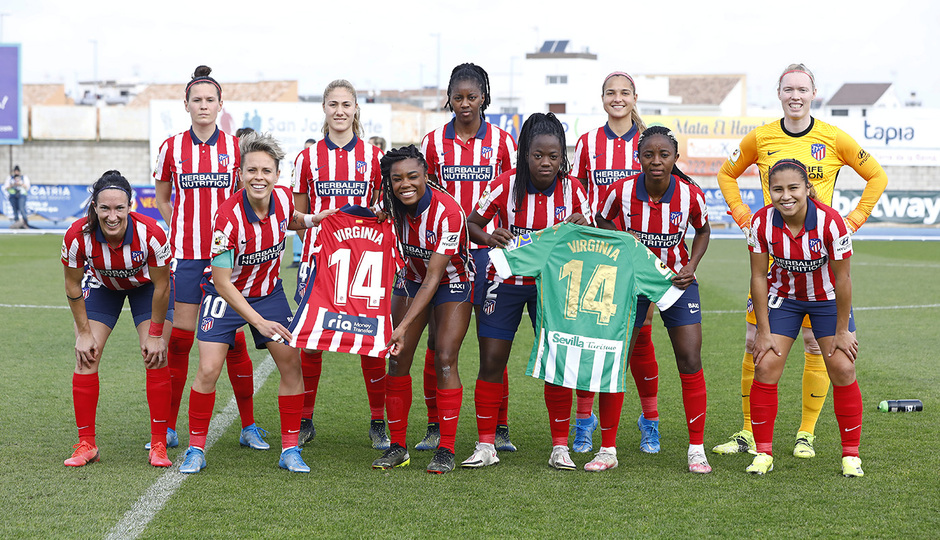 Temp. 2020-21 | Real Betis - Atlético de Madrid Femenino | Once