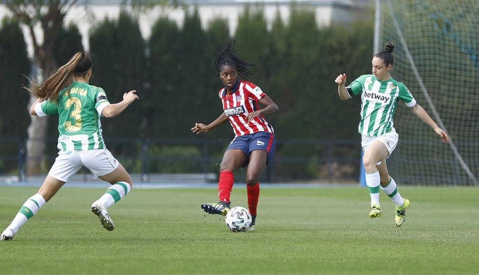 Temp. 2020-21 | Real Betis - Atlético de Madrid Femenino | Tounkara