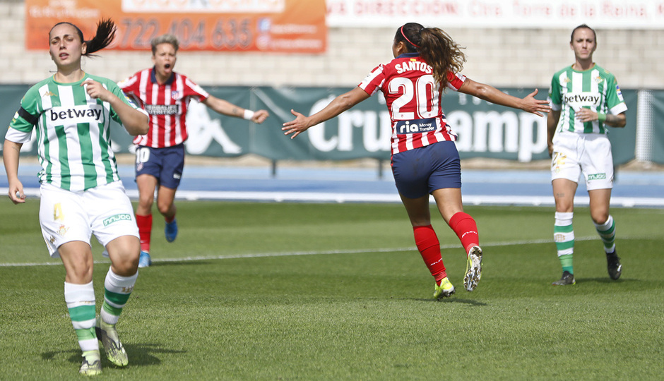 Temp. 2020-21 | Real Betis - Atlético de Madrid Femenino | Leicy celebración