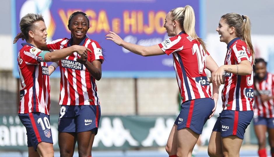 Temp. 2020-21 | Real Betis - Atlético de Madrid Femenino | Celebración Amanda
