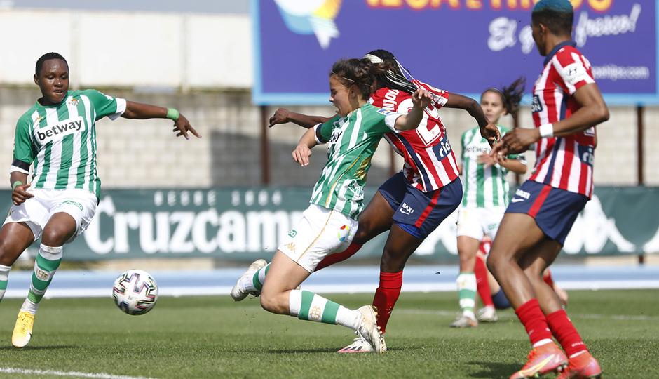 Temp. 2020-21 | Real Betis - Atlético de Madrid Femenino | Njoya Ajara