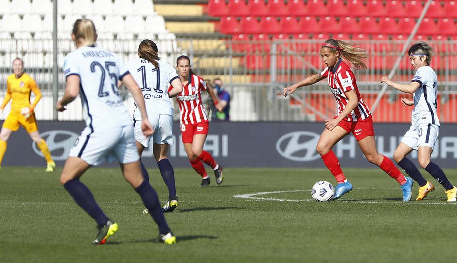 Temp. 2020/21 | Atleti Femenino-Chelsea | Deyna Castellanos