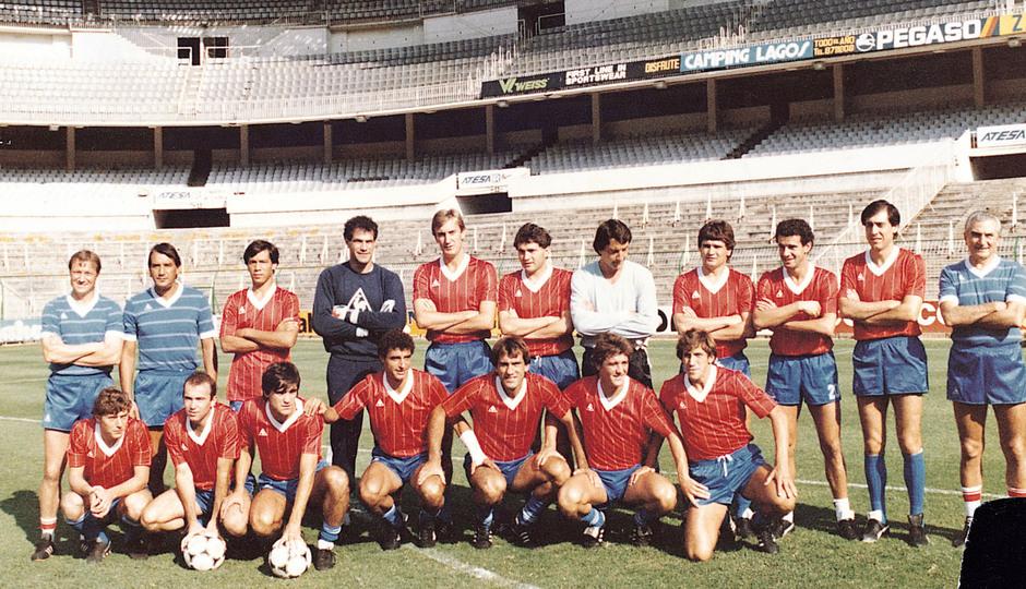 Temporada 13/14. Leyendas Rojiblancas. Kike Ramos con la selección española