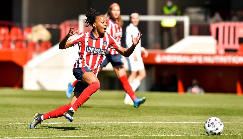 Temp. 2020/21 | Atleti Femenino-Real Madrid | Emelyne