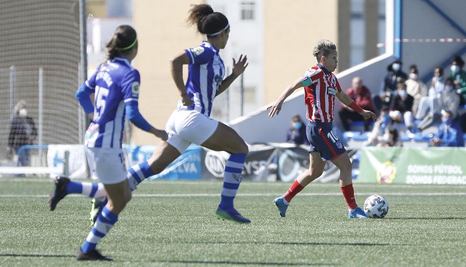 Temp. 20-21   Sporting de Huelva-Atleti   Amanda