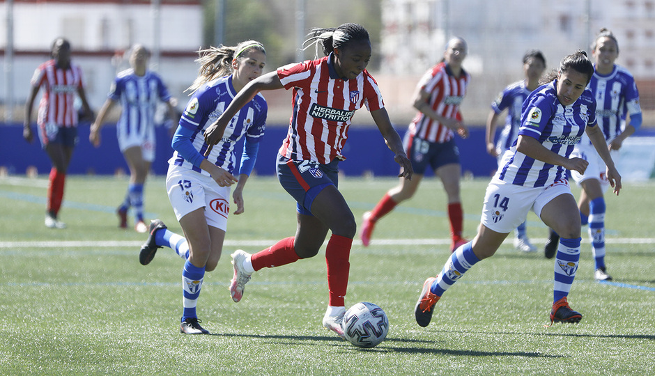 Temp. 20-21   Sporting de Huelva-Atleti   Ajara