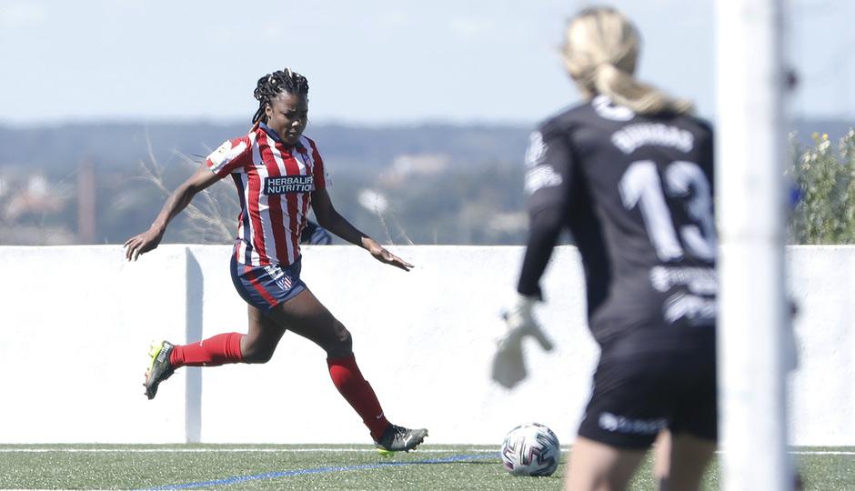 Temp. 20-21   Sporting de Huelva-Atleti   Ludmila