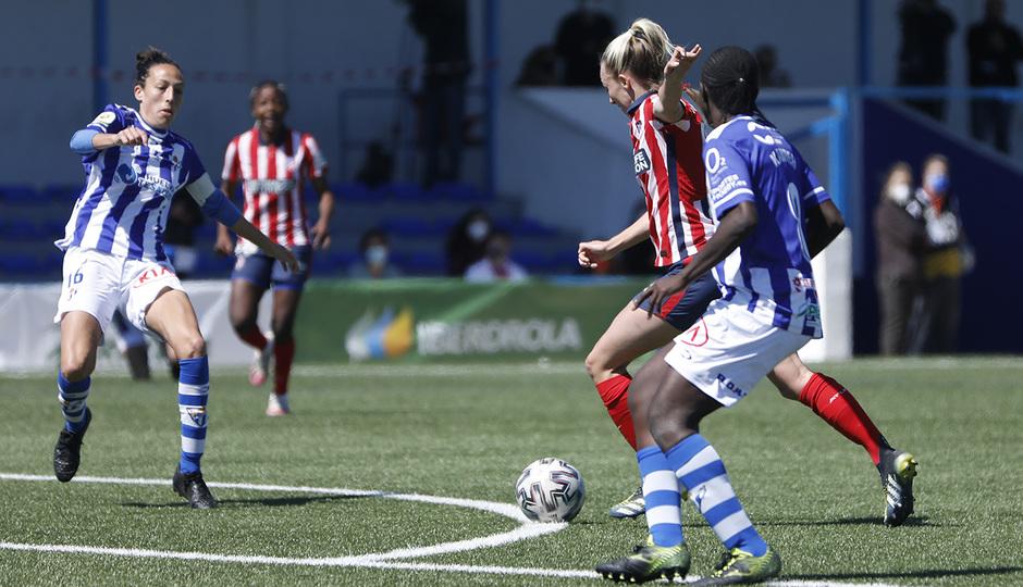 Temp. 20-21   Sporting de Huelva-Atleti   Toni Duggan