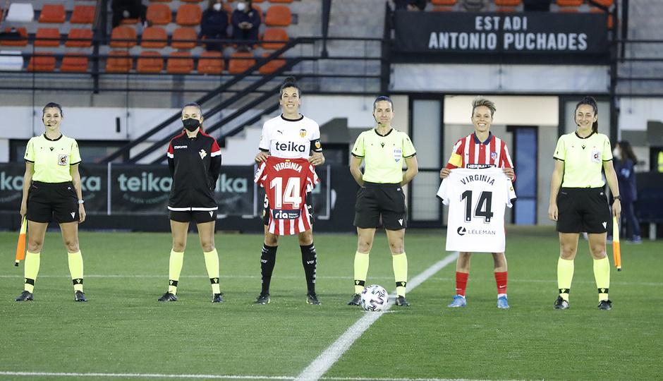 Temp. 20-21 | Valencia - Atlético de Madrid Femenino | Virginia