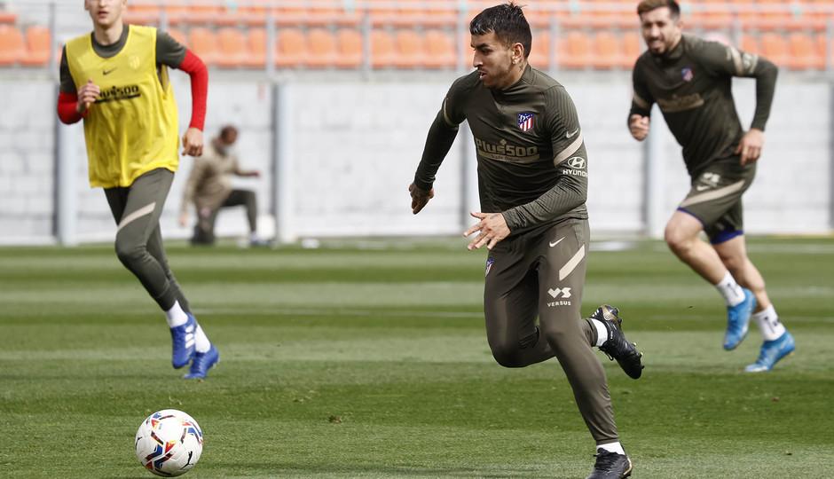 Temp. 20-21 | Entrenamiento Atlético de Madrid | Correa