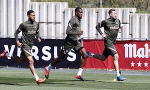 Temp. 20-21 | Entrenamiento Atlético de Madrid | Kondogbia, Lodi y Herrera