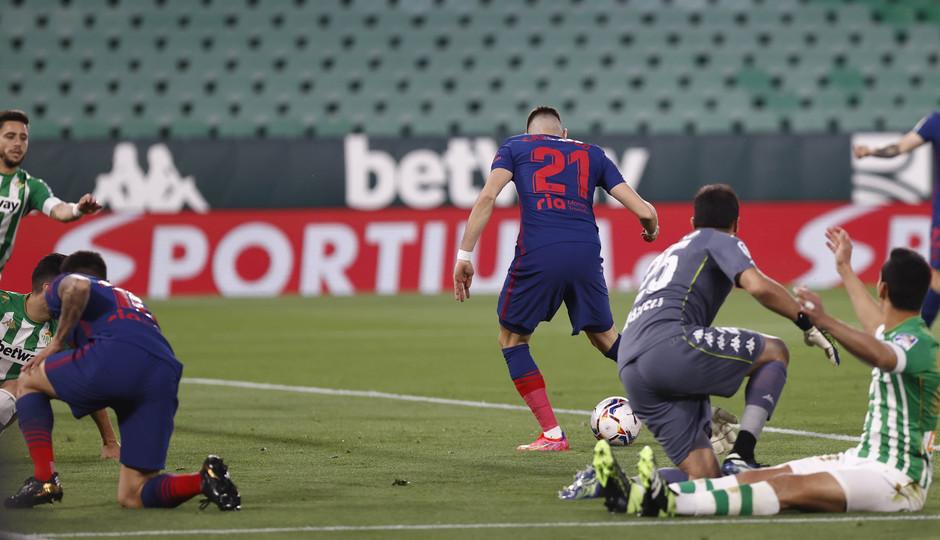 Temp. 20-21 | Betis - Atleti | Carrasco gol