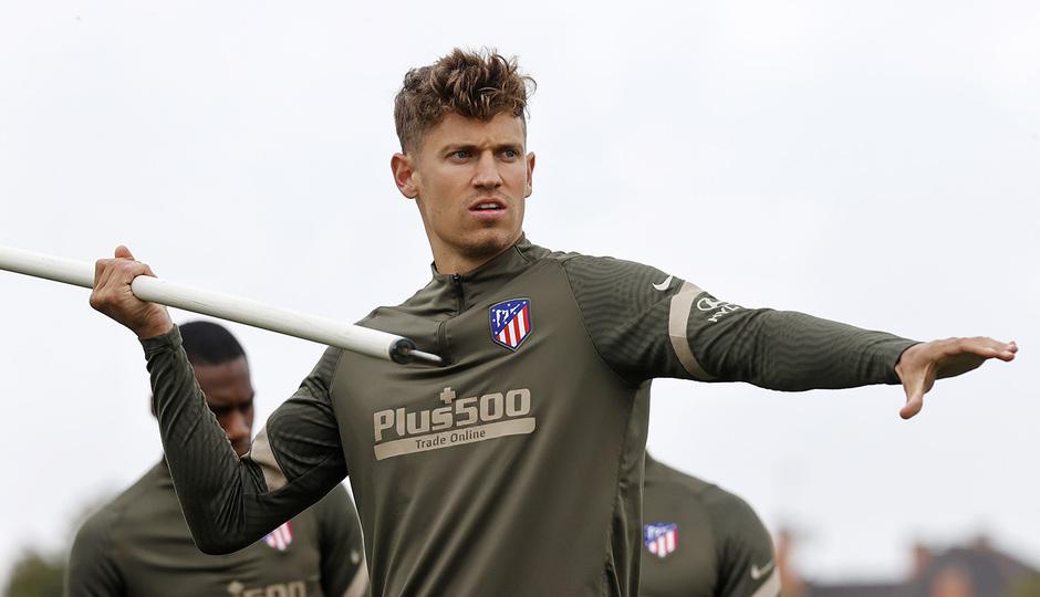 Temp. 20-21 | Entrenamiento Atlético de Madrid | Marcos Llorente