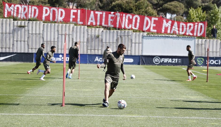 Temp. 20-21 | Entrenamiento Atlético de Madrid 17 abril | Koke