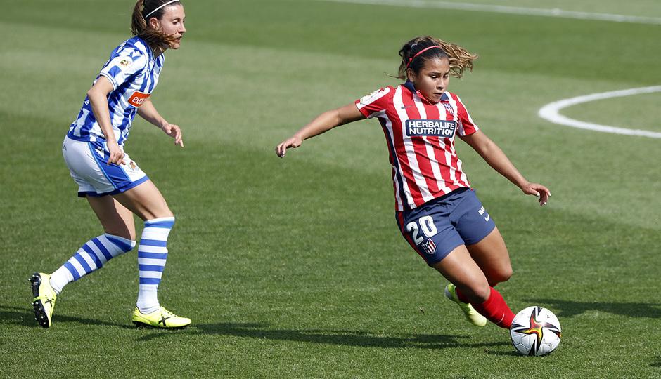 Temp. 2020/21 | Cuartos Copa de la reina | Real Sociedad-Atleti Femenino | Leicy