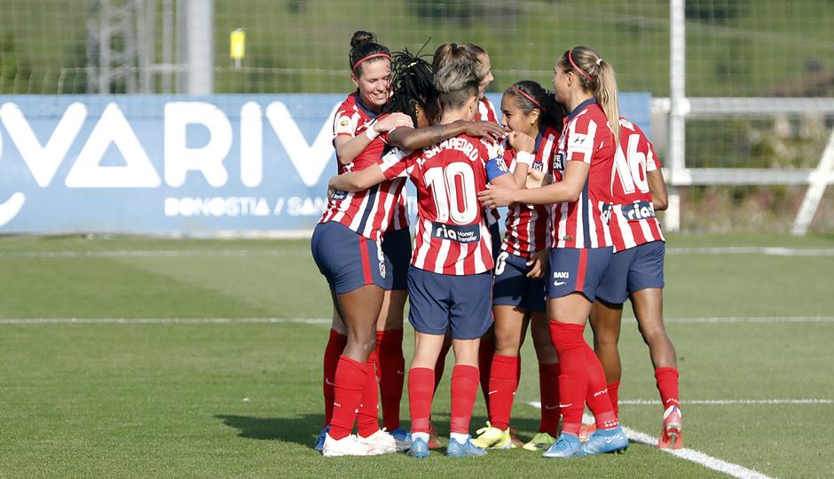 Temp. 2020/21 | Cuartos Copa de la reina | Real Sociedad-Atleti Femenino | Piña