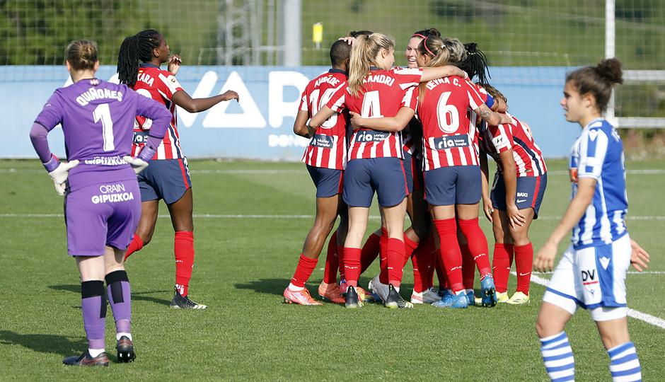 Temp. 2020/21 | Cuartos Copa de la reina | Real Sociedad-Atleti Femenino | Celebración