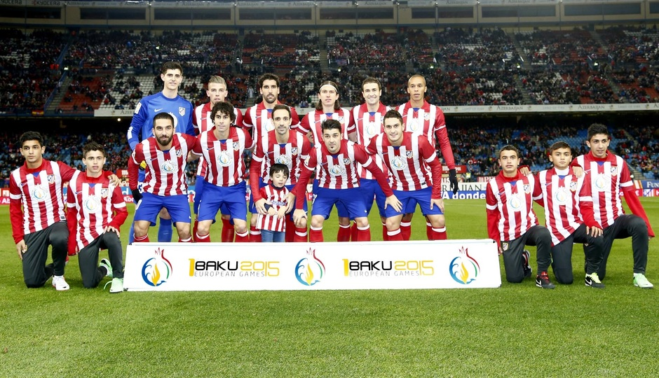 Primer equipo logo Bakú 2015