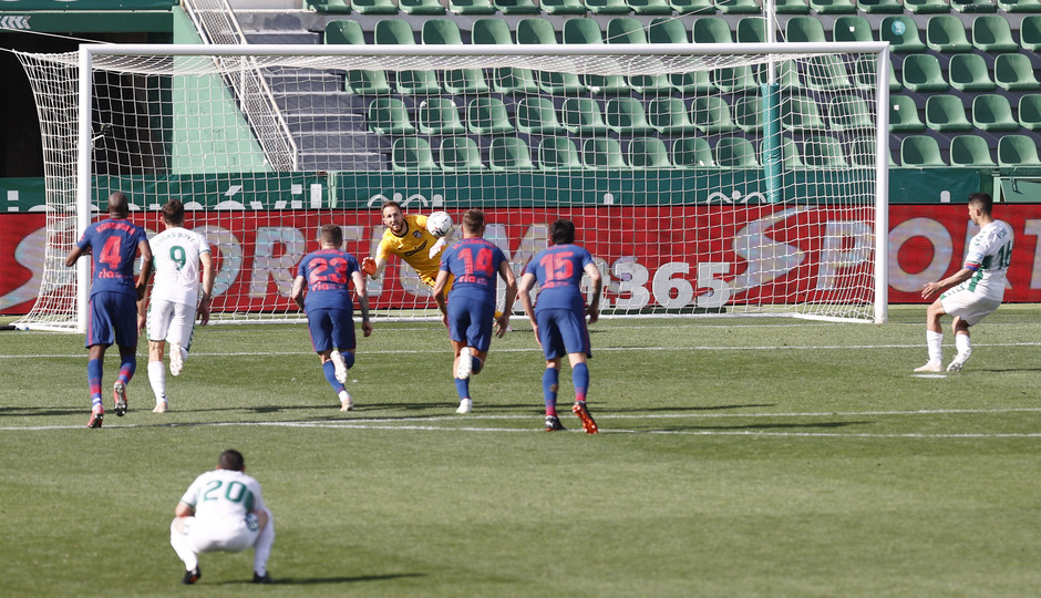 Temp. 20-21 | Elche - Atleti | Oblak penalti