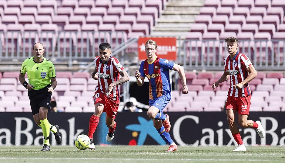 Temp. 20-21 | Atleti-Barça | Correa y Llorente