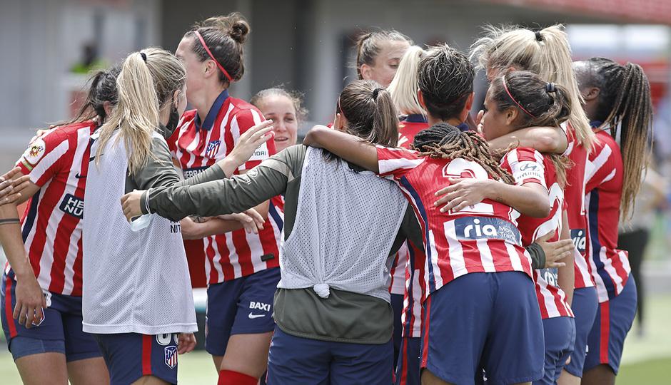 Temp. 2020/21 | Atlético de Madrid femenino - Athletic Club | Celebración